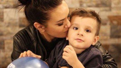 """""""FALEMINDERIT ZOT""""/ Ja dedikimi i Bora Zemanit për ditëlindjen e djalit të saj (FOTO)"""