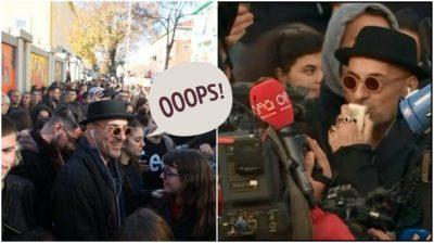 ME GISHTIN E MESIT/ Robert Aliaj reagon ashpër ndaj shqiptarëve: Ata që nuk mbështesin studentët… (FOTO)