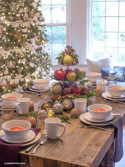NË DARKËN E FUNDVITIT/ Ja disa ide si mund të dekoroni tryezën festive