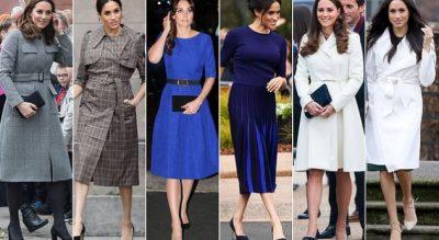 """""""KËRKON TË DUKET SI DUKESHË""""/ Meghan Markle akuzohet për imitimin e veshjeve të Kate Middleton"""