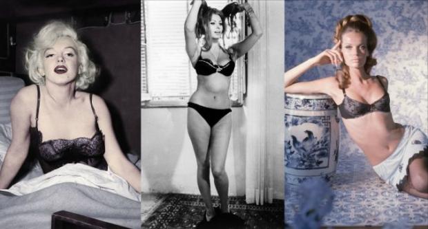 Kur ikonat Hollywood-iane të viteve 60′ e 70′ pozonin me të brendshme dantellë e zhartier (FOTO)