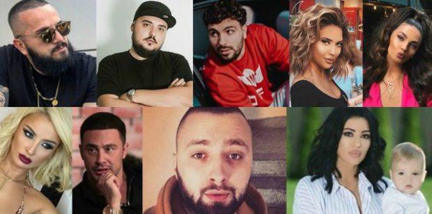 PLASI KEQ/ 13 sherret më të bujshme të VIP-ave shqiptar në vitin 2018
