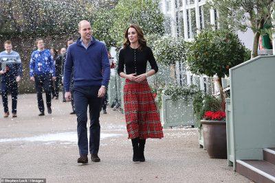 NISËN KRISHTLINDJET/ Kate dhe William shfaqen të lumtur dhe festiv (FOTO+VIDEO)