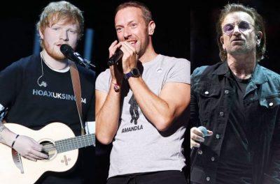 """NGA KATY TEK """"ED SHEERAN""""/ Zbuloni muzikantët më të paguar në botë për vitin 2018"""
