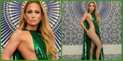 MAHNIT TË GJITHË ME VESHJEN E SAJ/ Jennifer Lopez rrezaton me të bardha në Manhattan (FOTO)