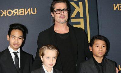 PAVARËSISHT TENSIONEVE/ Brad Pitt feston ditëlindjen me fëmijët