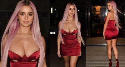 """SFIDON KIM KARDASHIAN/ Demi Rose """"tërbon"""" fanst me fustanin e kuq (FOTO)"""
