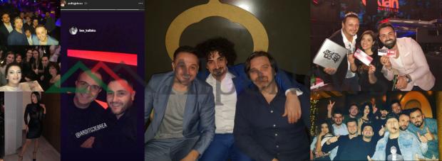 """PARTY I """"ÇMENDUR"""" I TV KLAN/ VIP-at festojnë mbrëmjen e fundvitit me kërcime siper tavolinave (FOTO)"""