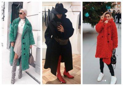 PALLTO DHE PELLUSH/ Si su veshën gjatë javës së ftohtë blogeret: Nga Armina tek Jonida (FOTO)