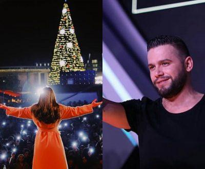 """PAS FITORES NË """"KËNGA MAGJIKE""""/ Flori Mumajesi merr dhuratën emocionuese nga këngëtarja shqiptare (VIDEO)"""