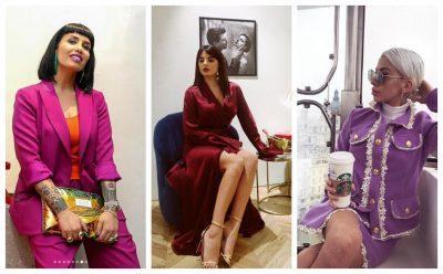 """NGJYRA TË FORTA DHE DIMËRORE/ Këto janë veshjet më """"cool"""" të blogereve këtë javë (FOTO)"""