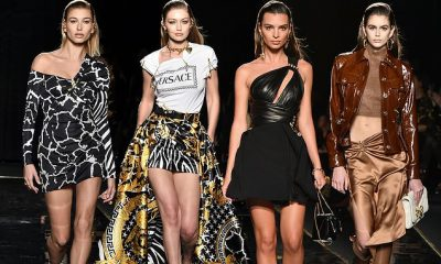 NDËR MË TË PAGUARAT/ Supermodelet pushtojnë pasarelën e Versace