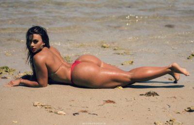 NJË NGA VAJZAT MË SEKSI/ Modelja nga Venezuela do t'ju bëjë të harroni Kim Kardashianin