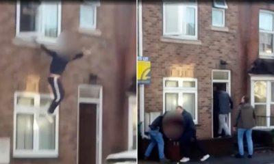 TENTOI TË ARRATISEJ DUKE U HEDHUR NGA DRITARJA/ Bie në duart e policëve (VIDEO)
