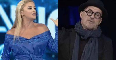 """""""PO FLAS SHQIP JO KINEZÇE""""/ Plas keq debati mes Alketës dhe Robertit live: Na flliqe…"""
