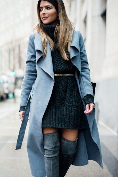 """""""CASUAL""""/ Ja 5 mënyra si ta kombinoni një """"fustan-pulovër"""" këtë dimër (FOTO)"""