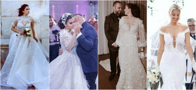 DASMAT PËRRALLORE TË 2018/ Shihni 10 vip-at shqiptar që u martuan këtë vit (FOTO)