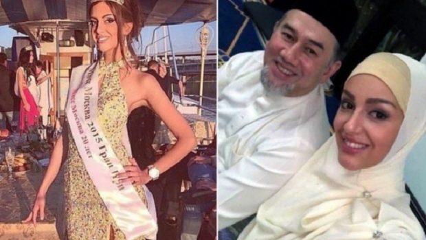 MARTOHET ME MODELEN/ Mbreti i Malajzisë braktis kurorën për të dashurën 24 vite më të re