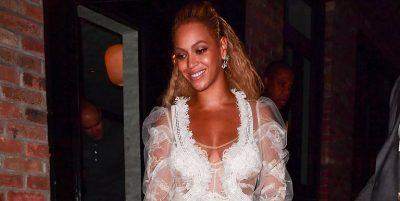 """NË VITIN 2018/ Beyonce paska veshur fustanin më """"cool"""" të martesës (FOTO)"""