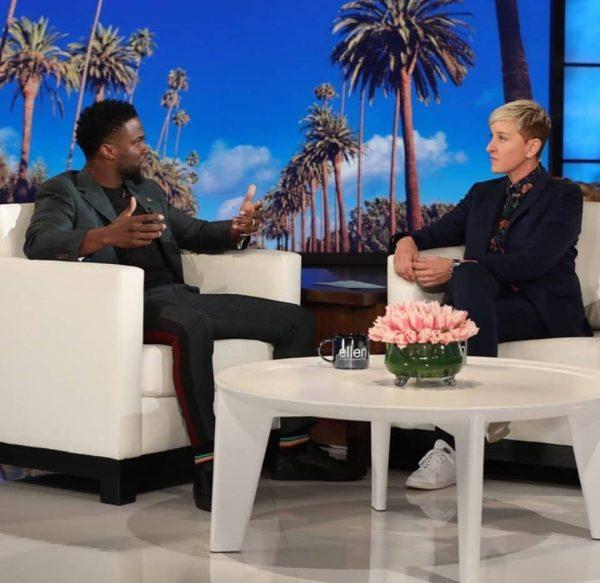 """ELLEN NË MBROTJE TË AKTORIT/ Kevin Hart mendon të kthehet si interpretues i """"Oscars"""""""