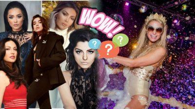 BASHKË ME PRINDËRIT/ Kjo është këngëtarja shqiptare që priti 2019-ën në festën luksoze të Paris Hilton