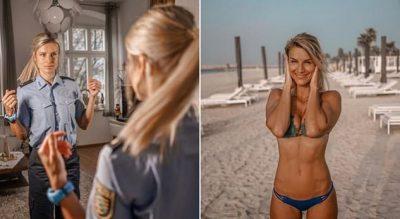 I DASHURI E BRAKTISI PËR SHKAK TË FAMËS/ Policja seksi bën dedikimin prekës për të (FOTO)