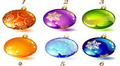 SI DO JETË KY VIT PËR TY? Zgjidh një top dekorativ dhe zbuloje