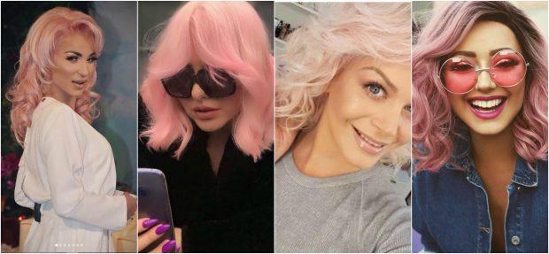 KOPJUAN NJËRA TJETRËN/ Ja vip-et që tërbuan dhe i kthyen flokët ngjyrë rozë: Nga Orinda…(FOTO)