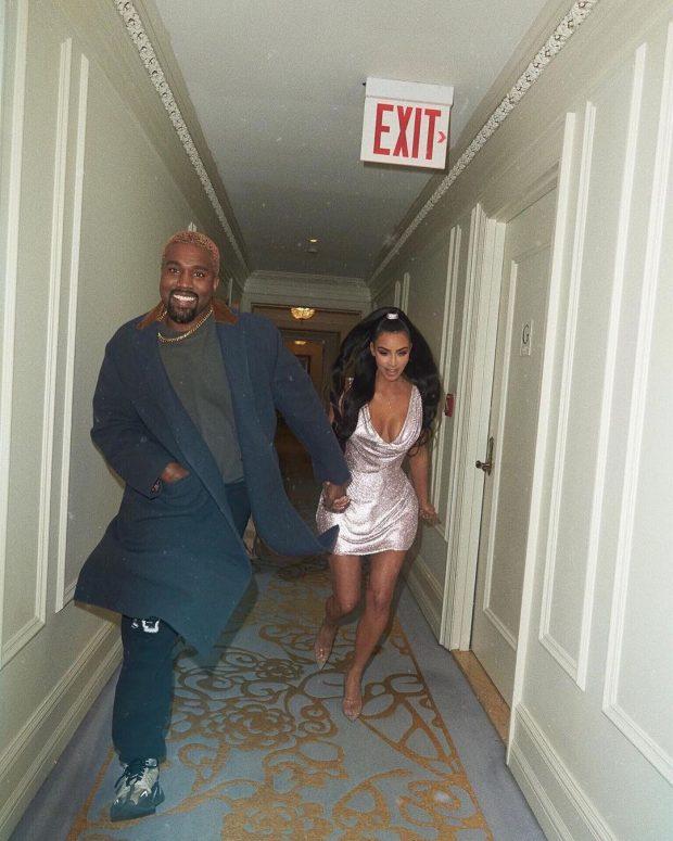 NJË TJETËR BEBUSH PO VJEN/ Kim dhe Kanye në pritje të fëmijës së katërt (FOTO)