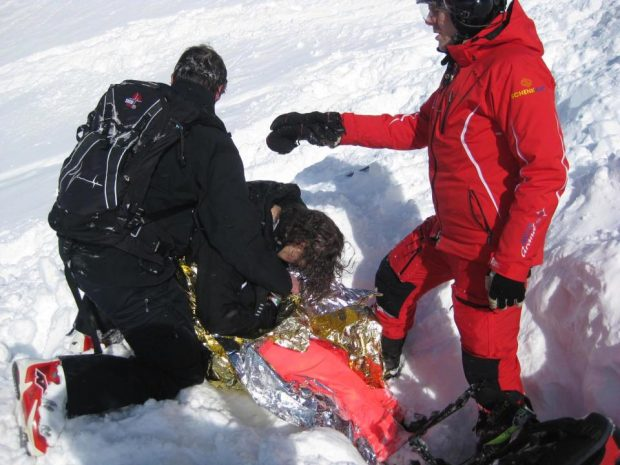 """""""ISHTE AQ E QETË""""/ Skiatorja tregon çfarë i ndodhi kur """"vdiq"""" për 20 minuta (FOTO)"""