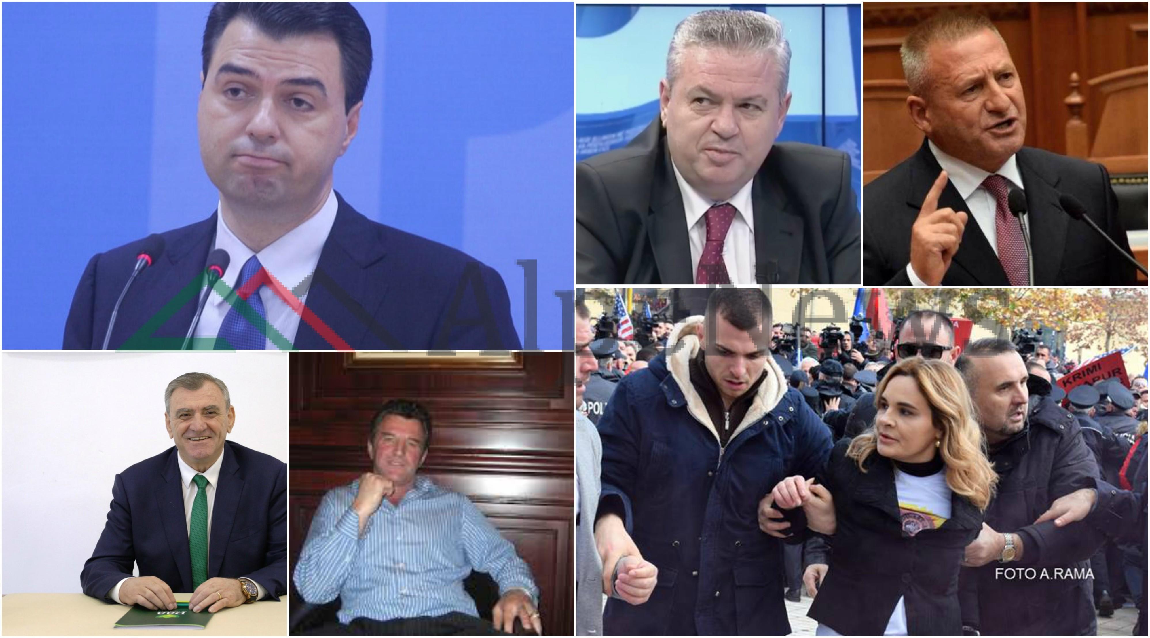 """""""KRIZA E PD-së BRENDA DHE JASHTË KOALICIONIT""""/ Kritikët dhe aleatët """"KUNDËR"""" Bashës dhe Monikës"""