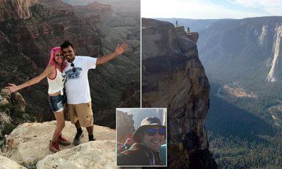 PO BËNIN SELFIE NË MAJËN E LARTË/ Të dashuruarit e dehur bien nga lartësia 243 metra (FOTO)