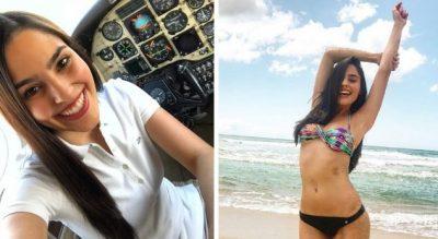 ÇDO DITË SFIDON QIEJT/ Kjo është pilotja më e bukur në botë (FOTO)