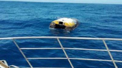 U BRAKTIS NË VITIN 2010/ Gjendet varka në mes të Oqeanit Indian (FOTO)