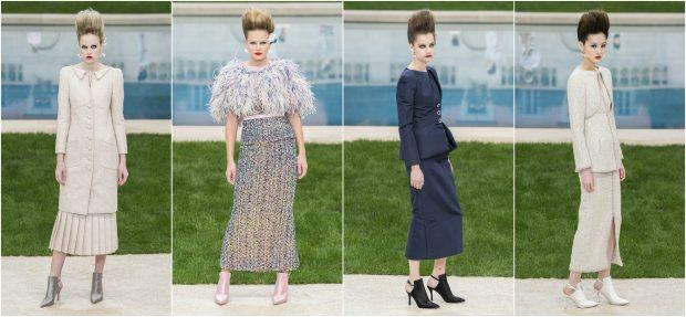 """TRENDI I 2019/ """"Chanel"""" heq dorë nga fustanet dhe  prezanton """"kostumet e martesës"""" (FOTO)"""