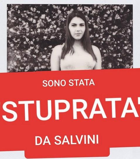 """""""JAM PËRDHUNUAR NGA SALVINI""""/ Pornostarja italiane trondit opinionin publik (FOTO)"""