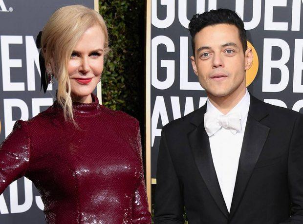 """E INJOROI NË """"GOLDEN GLOBE""""/ Çfarë thotë Rami Malek për Nicole Kidman"""