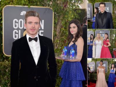 """FOTO LAJM/ Kur personazhi më i përfolur i """"Golden Globes"""" është… vajza që shpërndan ujin!"""