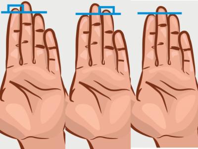 LIDER DHE AGRESIV/ Zbuloni çfarë tregon gjatësia e gishtave për personalitetin tuaj