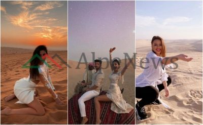 RRITËN TEMPERATURAT NË MAKSIMUM/ Këto janë VIP-et që realizuan pozat e NXEHTA në shkretëtira (FOTO)