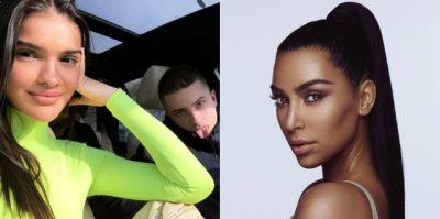 ARBENITA VESHI FUSTANIN E KOPJUAR PREJ SAJ/ Kim Kardashian i bën namin (FOTO)