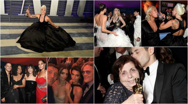 """NGA NËNA E AKTORIT FITUES TEK SHOQËRIA E GAGËS/ Festa e vërtetë e Oscars është """"After Party"""" (FOTO)"""