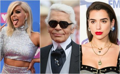 NUK ËSHTË AJO QË MENDONI JU/ Karl Lagerfeld ndiqte vetëm këtë këngëtare shqiptare në rrjete (FOTO)