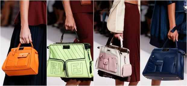 """XHEPA DHE NGJYRA TË FORTA/ Fendi prezanton trendin """"e çuditshëm"""" të çantave (FOTO)"""