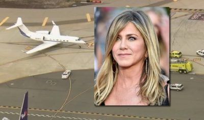 FRIKË NË AJËR/ Avioni i Jennifer Aniston bën ulje emergjente në Kanada (VIDEO)