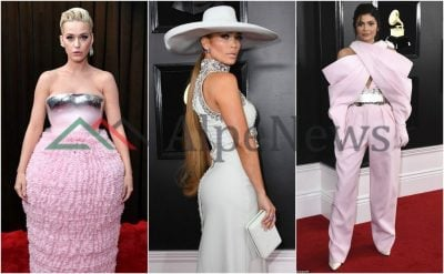 """NGA JENNIFER LOPEZ TEK KYLIE JENNER/ Kush ishin VIP-et e veshura më keq në çmimet """"Grammy"""" (FOTO)"""
