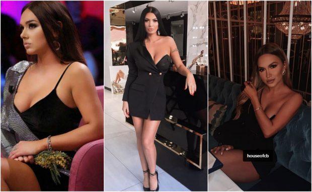 """TË ZEZA E PLOT KLAS/ VIP-et i adhurojnë fustanet """"xhaketë"""" me një krah zbuluar (FOTO)"""