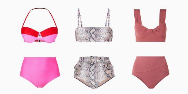 ME BEL TË LARTË DHE PRINTE/ Këto janë bikini-t që do të shihni në sezonin veror 2019