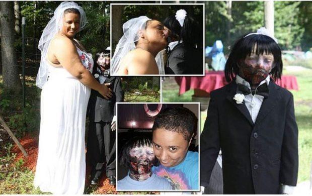 """""""ËSHTË DASHURIA E JETËS SIME""""/ 20 Vjeçarja martohet me kukullën Zombie"""