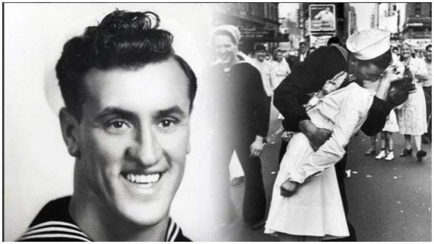 """VDES NË MOSHËN 95 VJEÇARE/ Marinari që shkëmbeu puthjen e zjarrtë në """"New York"""" (FOTO)"""